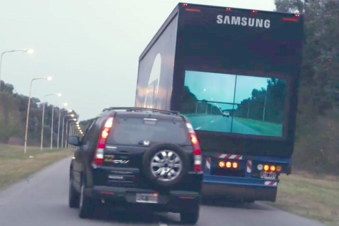 Señalización con VideoWall para carreteras