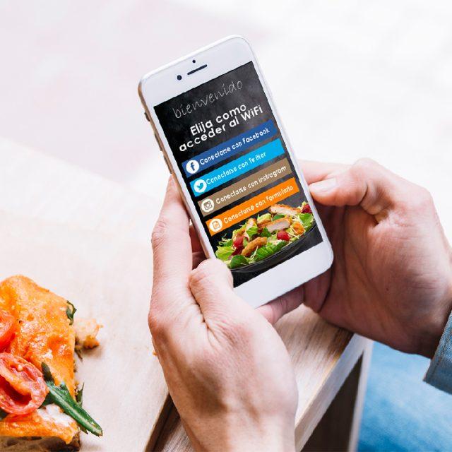 Señalización digital: Wifi Marketing
