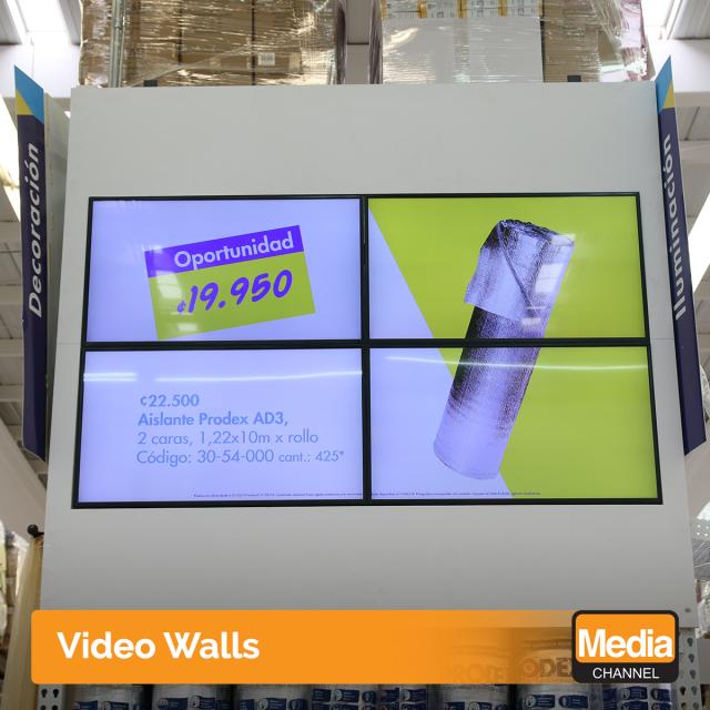 Conoce qué es un sistema Video Wall y las ventajas de utilizarlo en tu negocio